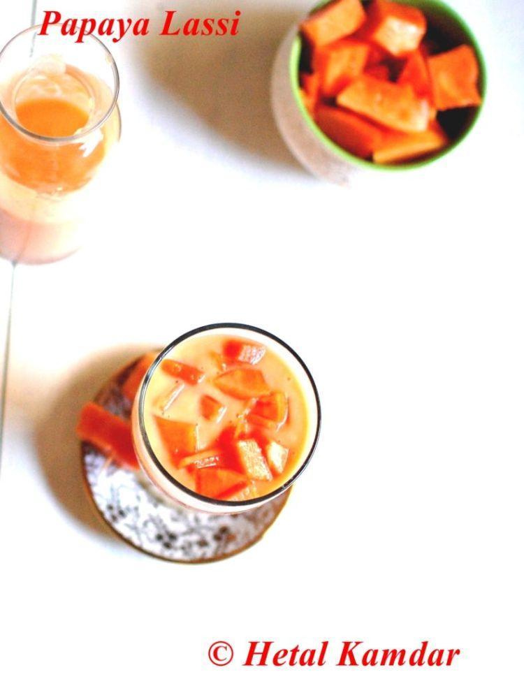 papaya-lassi