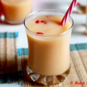 Muskmelon Pomegranate Smoothie