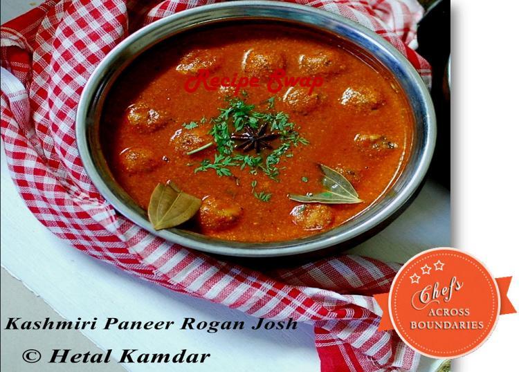 paneer-rogan-josh-kashmiri-cuisine | Vegetarian rogan josh recipe | Kashmiri Rogan Josh Recipe