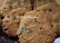 Chocolate Peanut Butter Crinkle Cookies