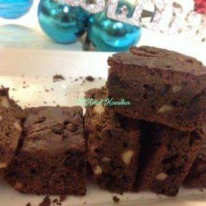 eggless-chocolate-almond-brownies