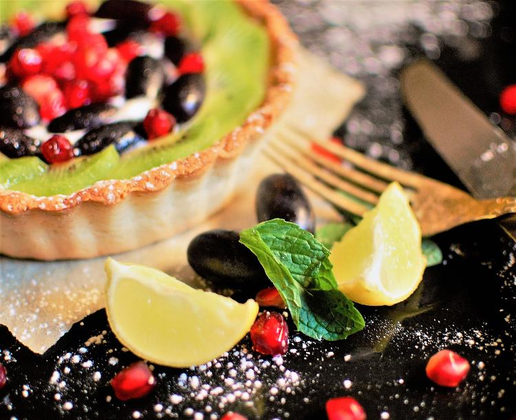 lemon-fruit-cheesecake-tart