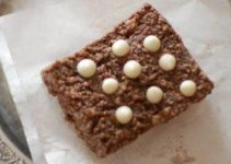 Chocolaty Kalakand with White Chocolate Chips