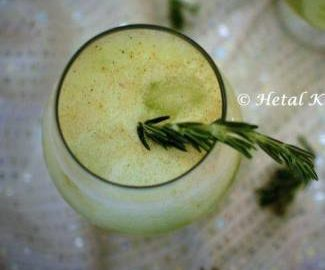 Rosemary Infused Cucumber Lemonade