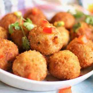 Corn Cheese Balls | Step by Step Recipe
