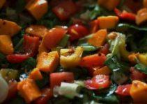 Vegan Mango and Spinach Salad
