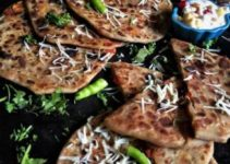 Cheese Stuffed Parathas