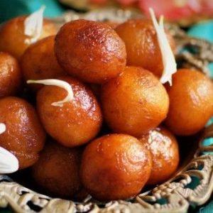 gulab jamun indian sweet
