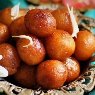 gulab jamun indian sweet