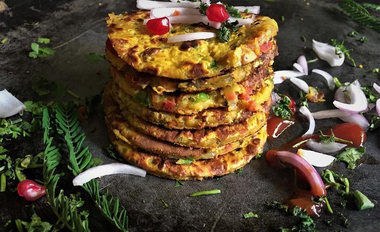 savory-gram-flour-pancakes-besan-cheela-vegetarian-omlette