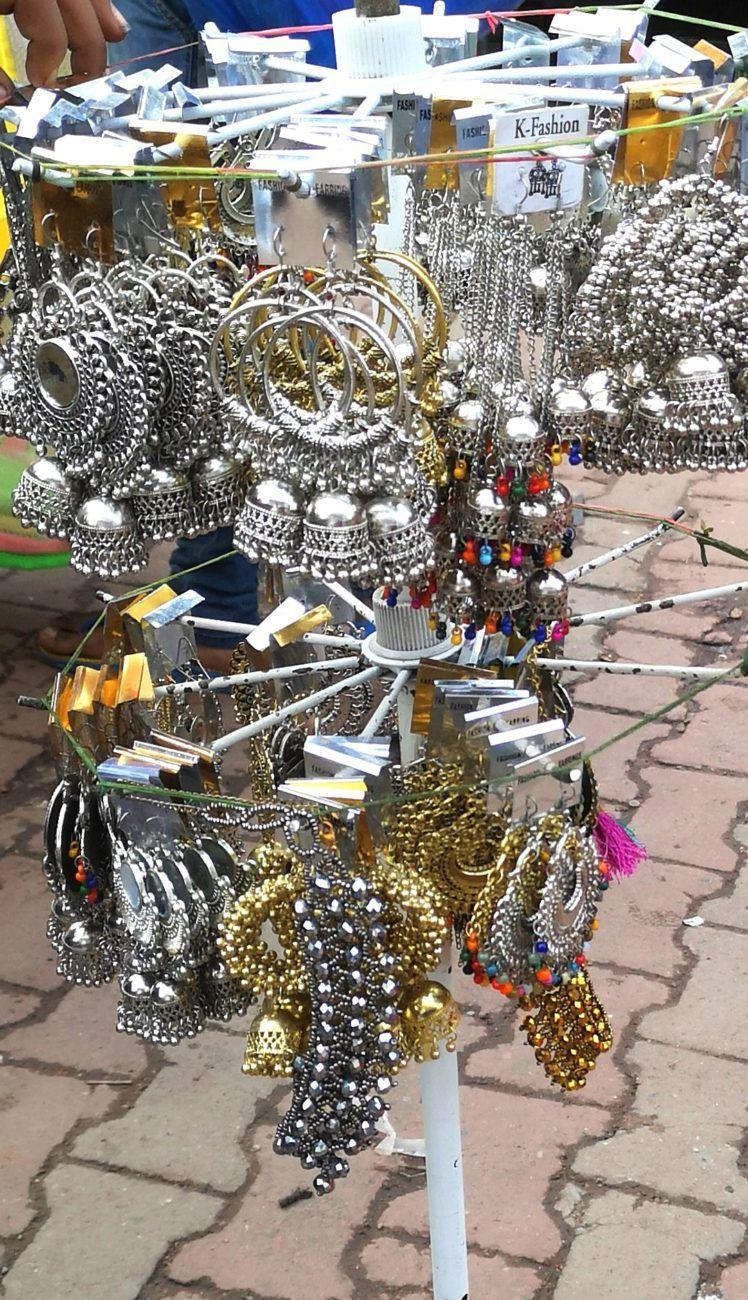 Shopping at Saroji Nagar Market