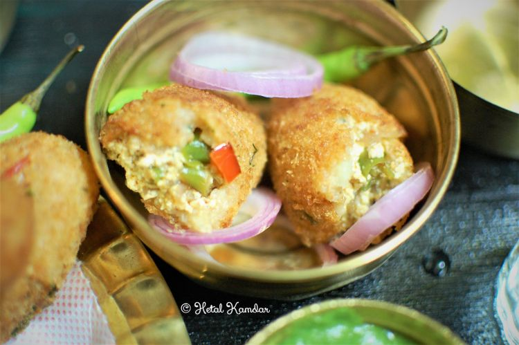 Aloo Paneer Croquettes