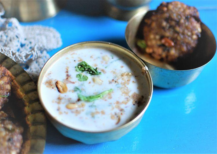 Farali-peanut-coconut-raita