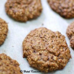 bournvita chocolate oat-cookies