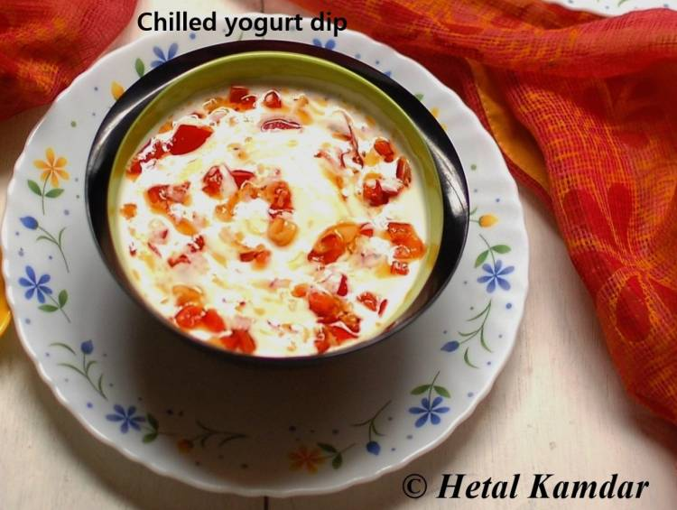 chilled-yogurt-dip