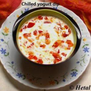 chilled-yogurt-dip