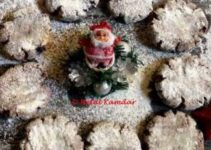 Chocolate Coffee Snowy Cookies – Christmas special