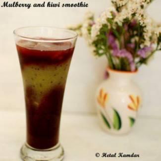 fresh-mulberry-and-kiwi-smoothie