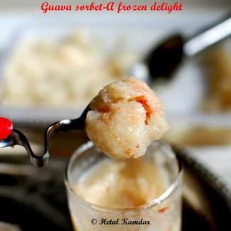 Guava Sorbet