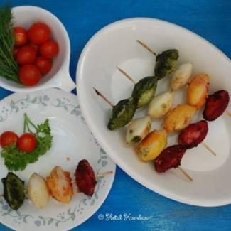 Idli Kababs – fun way to introduce veggies