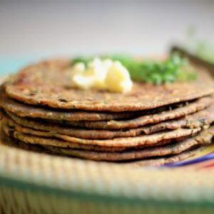 Raagi Fenugreek Indian Flat bread