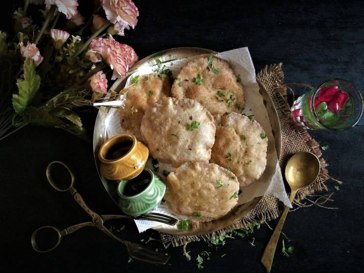 amaranth-and-buckwheat-flour-poori-navratri-fasting