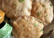 Amaranth and Buckwheat Flour Poori – Navratri Vrat / Fasting Recipes