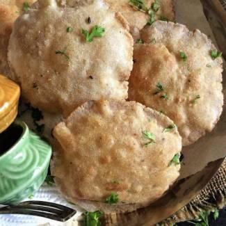 Amaranth and Buckwheat Flour Poori – Navratri Vrat / Fasting Recipes