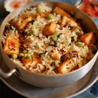 paneer-mutter-pulav