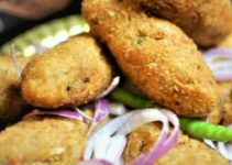 Potato Cottage Cheese Croquettes / Aloo Paneer Croquettes