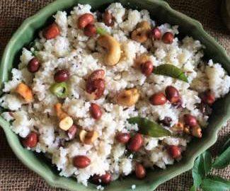 close up view of Samo Upma | Samvat Upma | Vrat Upma recipe