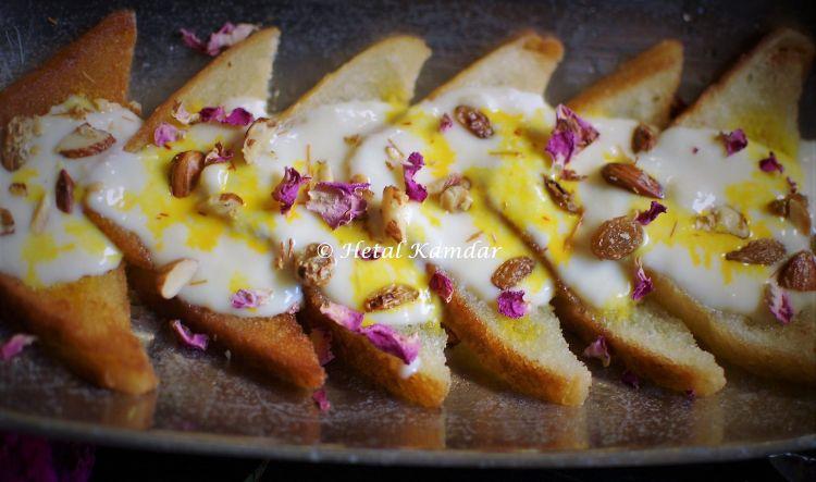 Shahi Tukra - Classic Mughlai Delicacy