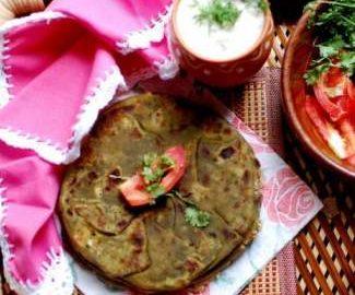 stuffed-spinach-paratha