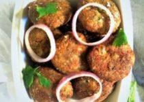 Mughlai Vegetarian Shami Kebabs