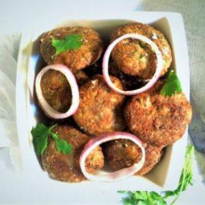 vegetarian shami kebabs mughlai