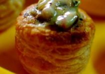 Vol au Vents Stuffed with Mushrooms – Classic French Treat