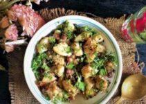 Vrat wale Aloo Peanut ki Subzi – Navratri | Shravan | Fasting Recipe