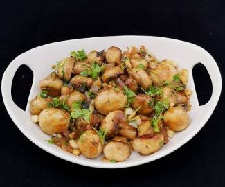 Garlic-Mushrooms
