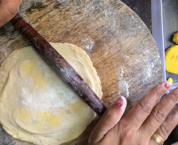 Kesar-Peda | kesar peda paratha recipe