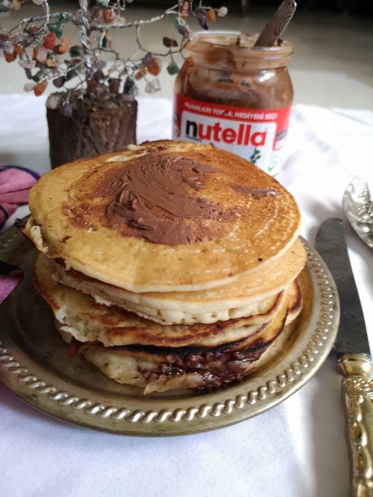 Nutella-Pancakes