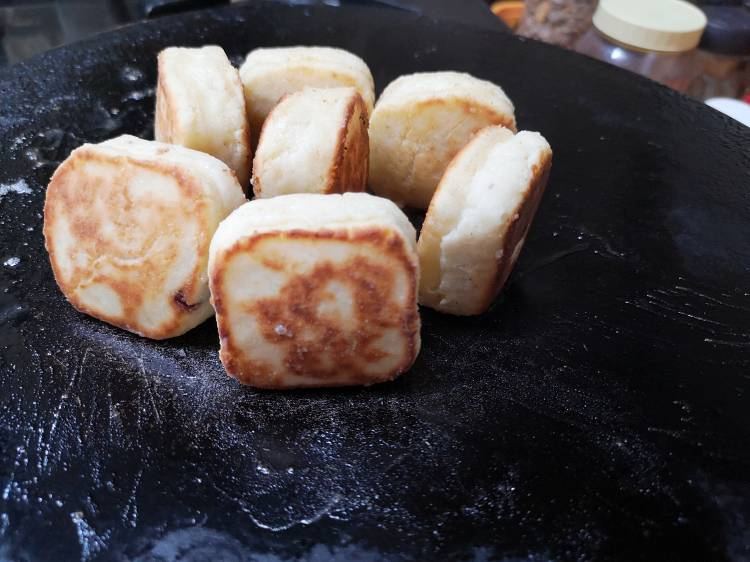 SYRNIKI-RUSSIAN-PANCAKE Step by Step Recipe | Syrniki recipe