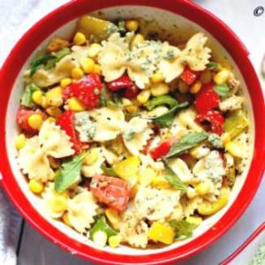 vegan-cold-italian-pasta-with-fresh-mint-pesto