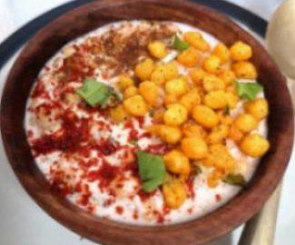 how to make burhani raita , Hydrebadi masala curd