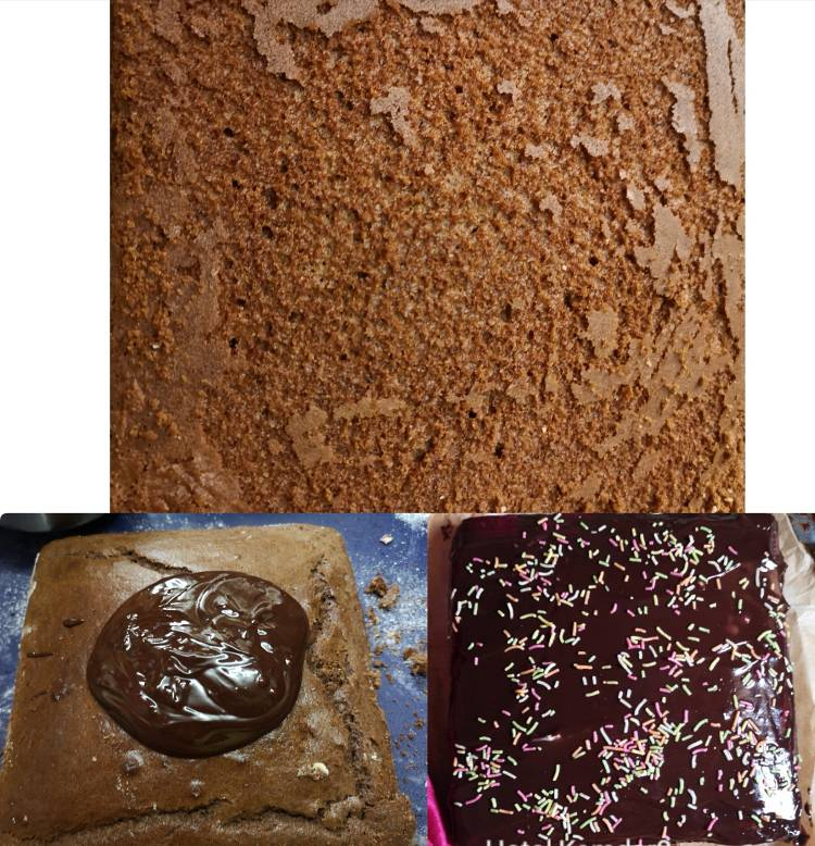 Eggless-Chocolate-Ragi-Cake-Step-4 / How to bake chocolate ragi cake / Recipe of chocolate cake