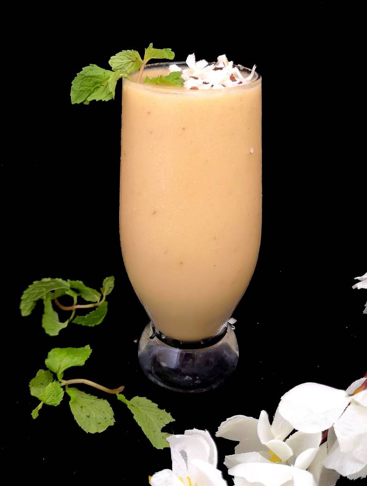 Pinacolada-Smoothie / how to make pinacolada smoothie