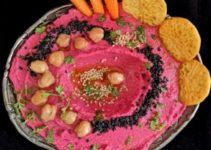 Vegan Roasted Beetroot Hummus