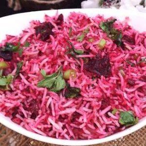 Beetroot-Rice