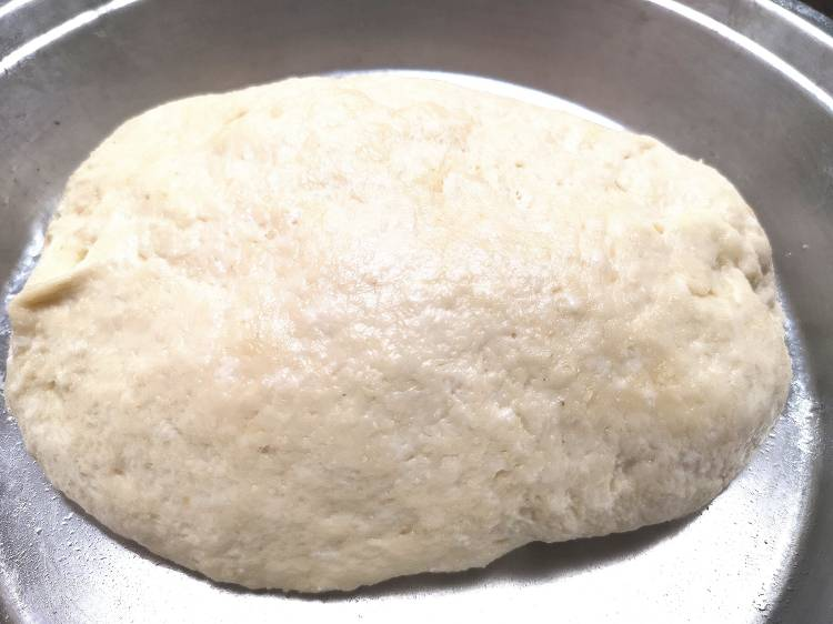 resting the dough for bhatura recipe