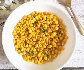 Buttered corn recipe / how to make buttered corn /Quick recipe of buttered corn