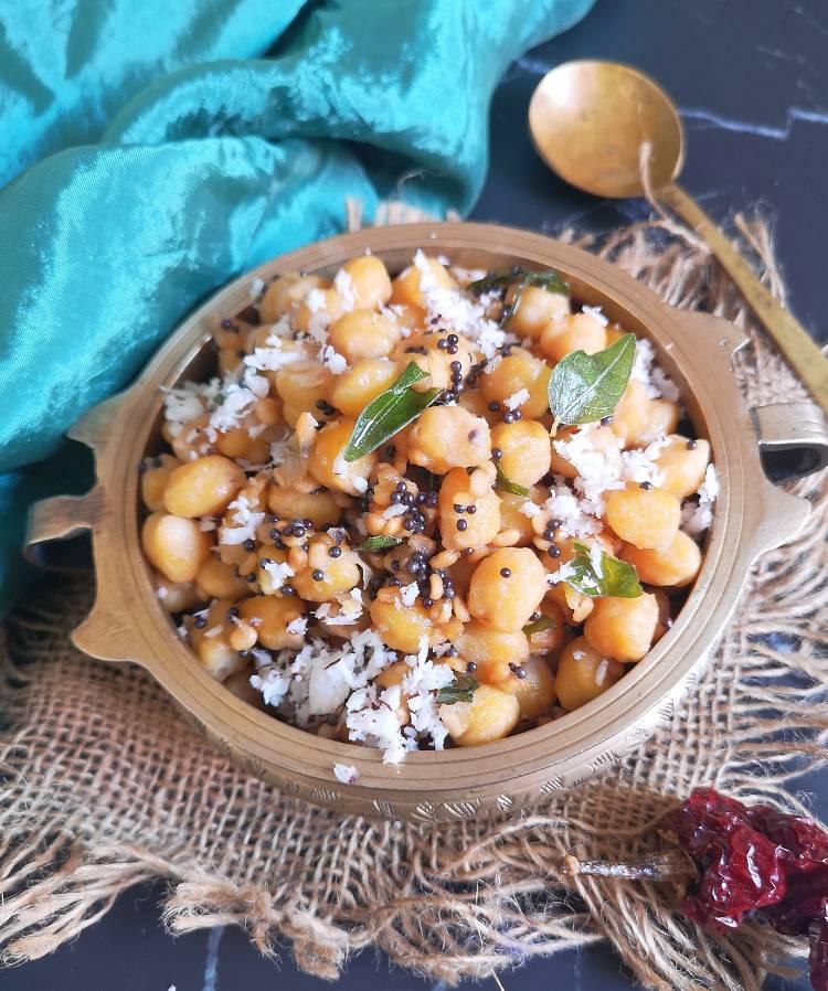 How to make Channa Sundal   Navratri Recipe